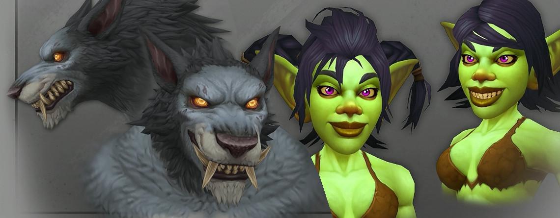 Seht Euch hier 7 Bilder der neuen Modelle von Goblins und Worgen in WoW an
