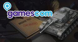 World of Tanks Gamescom Titel