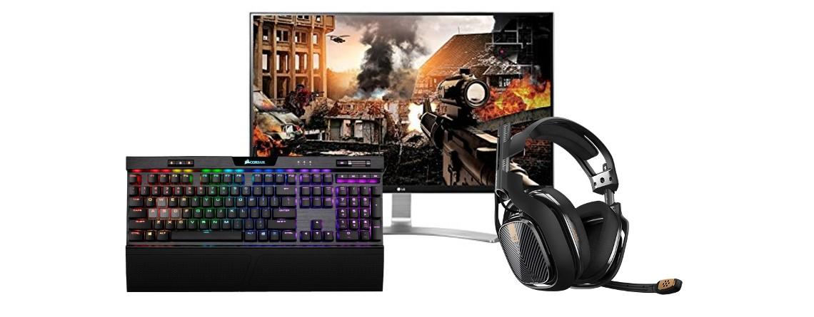 UHD-Monitor, Gaming-Tastatur und -Headset bei Amazon reduziert