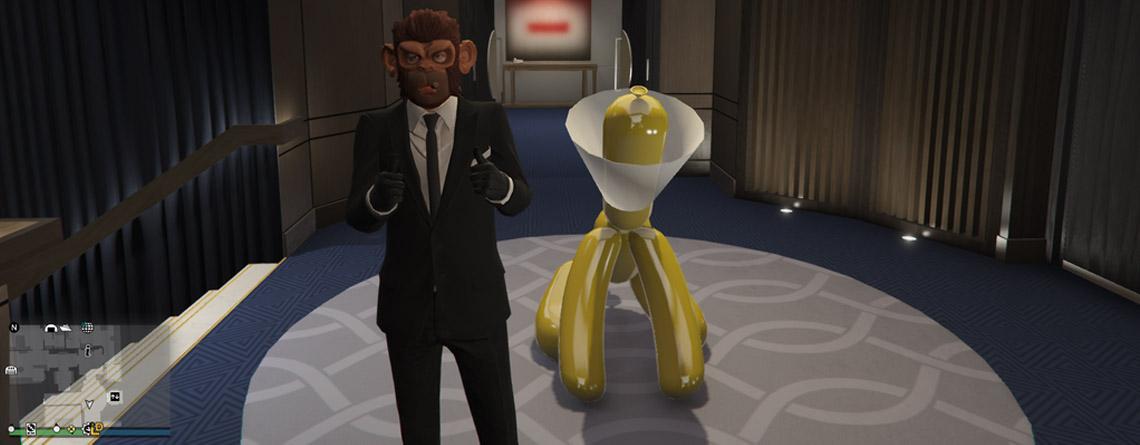 Von allen neuen Items in GTA 5 Online feiern Spieler diese Statue am meisten