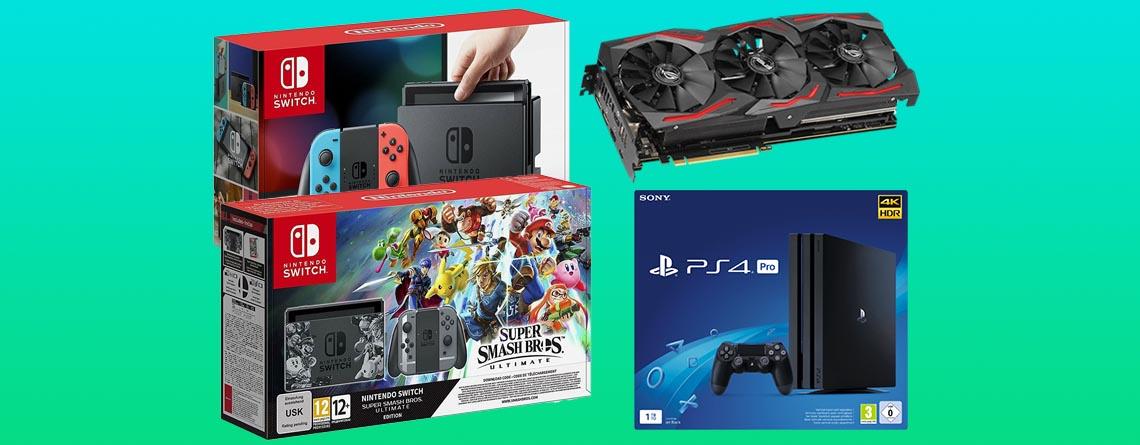 eBay Angebote: Nintendo Switch für 249€, PS4 Pro für 337€