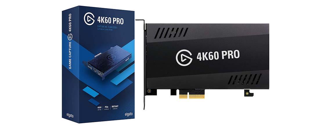 Elgato Game Capture 4K60 Pro zum Spitzenpreis von 199,99 Euro