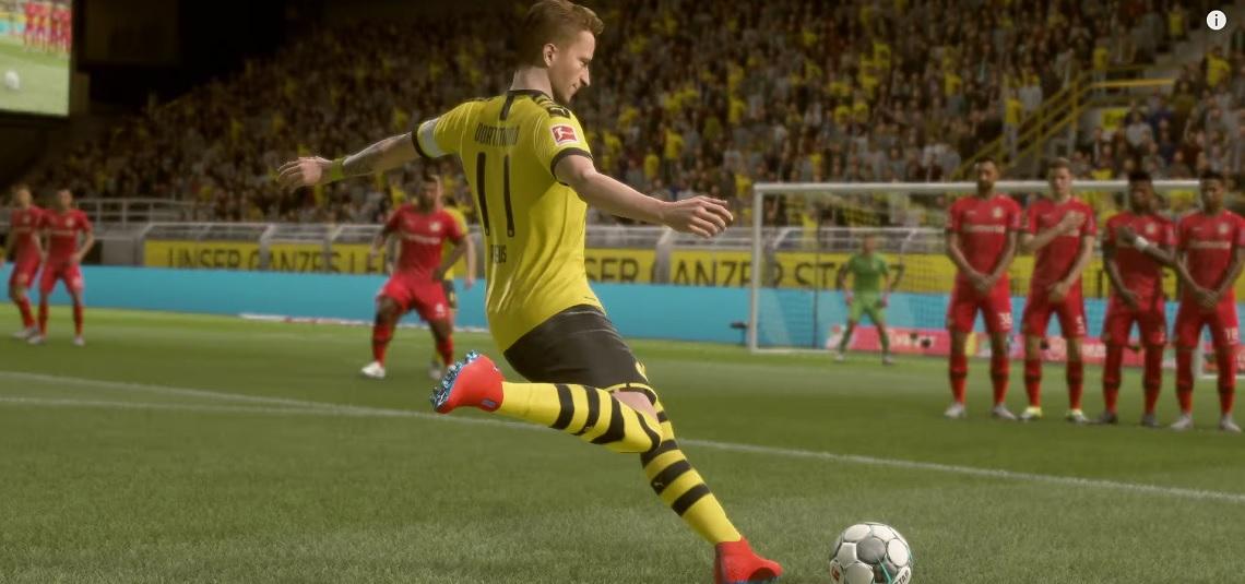 Warum schießen in FIFA 20 gerade so viele absichtlich schlechte Freistöße?