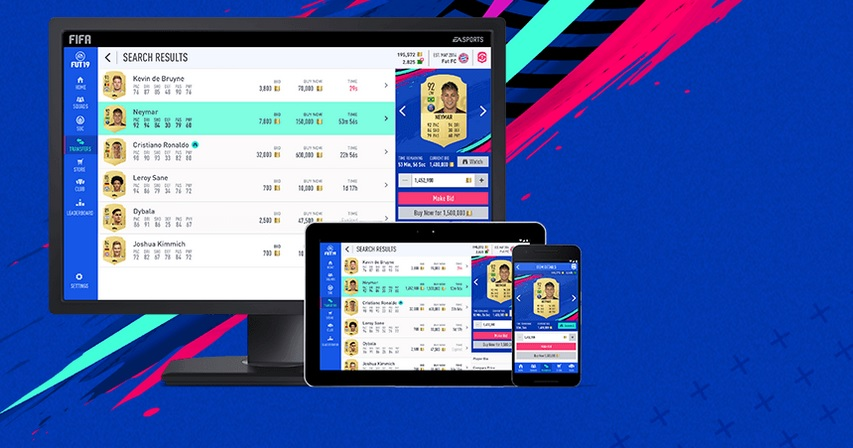 fifa 20 web app karten