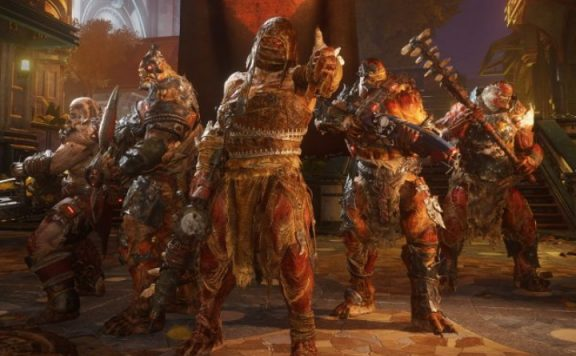 Gears 5 Map Gegner