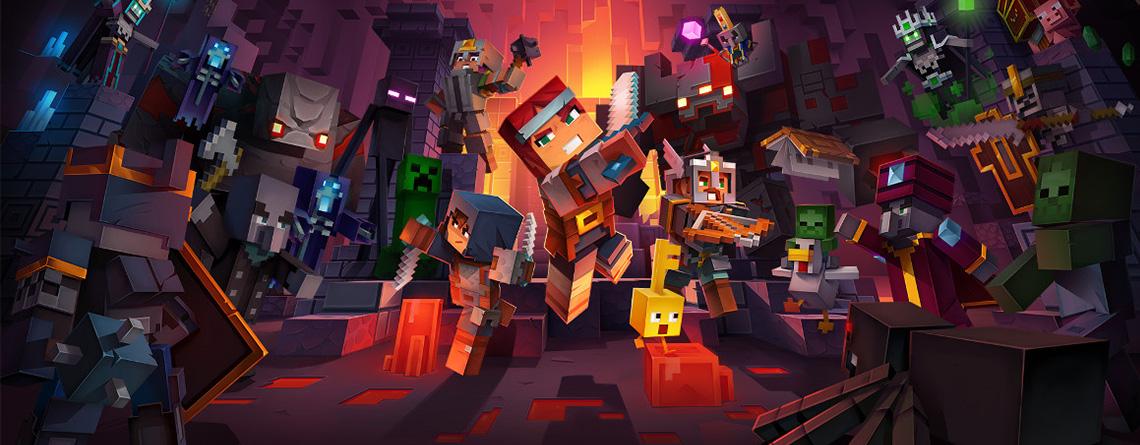 Minecraft Dungeons sieht aus wie das perfekte Couch-Koop-Spiel für die Familie