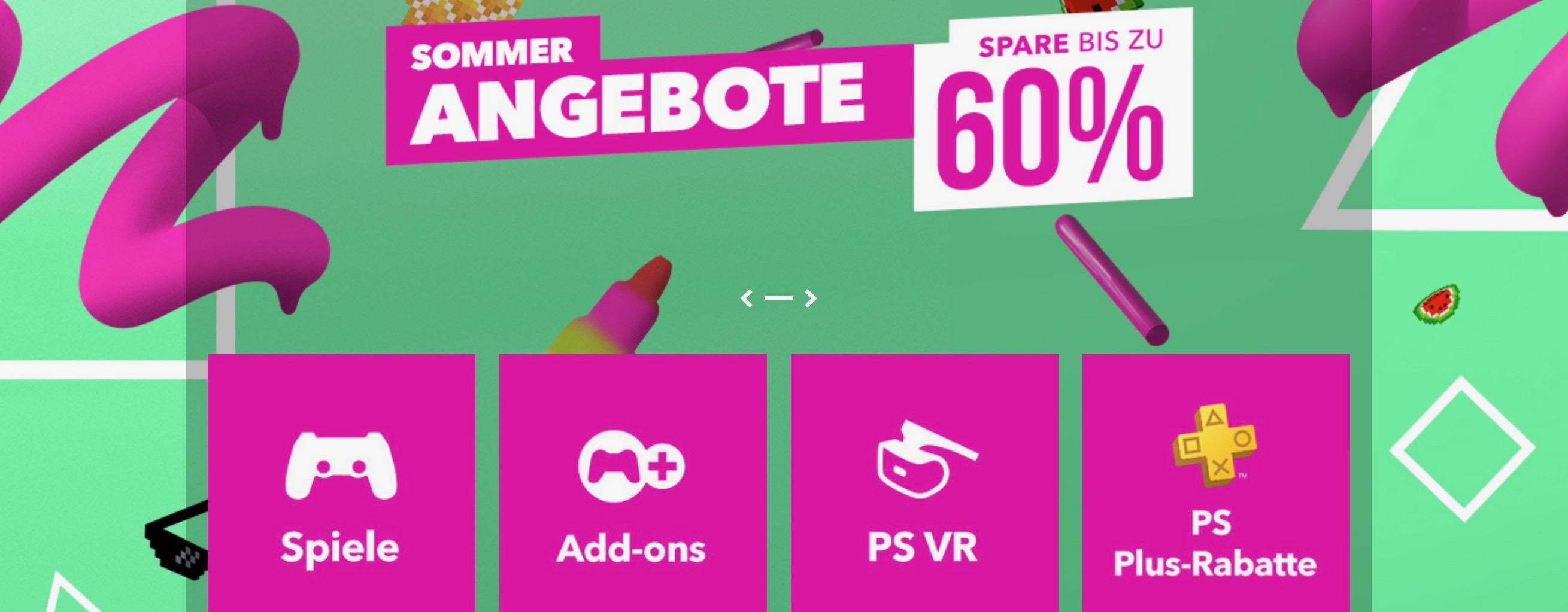 PS Store erweitert Sommer-Angebote – Die neuen PS4-Highlights des Summer Sale