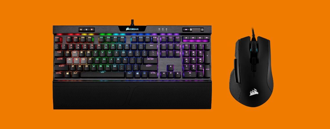 Corsair-Gaming-Tastatur kaufen und Maus bei Saturn gratis erhalten