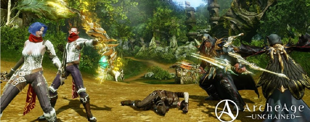 ArcheAge Unchained Gruppe