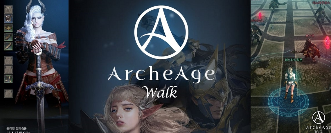 ArcheAge Walk: Neues Mobile-Game mischt MMORPGs mit Pokémon GO