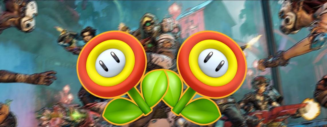 Mit dieser Waffe in Borderlands 3 ballert Ihr rum wie Super Mario auf Feuerblume