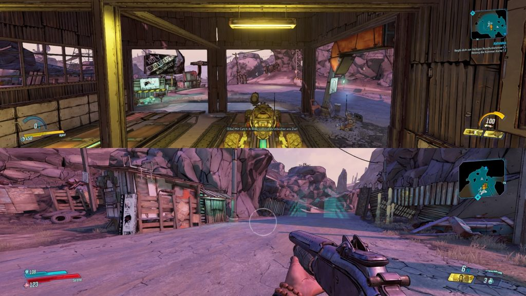 Borderlands Splitscreen