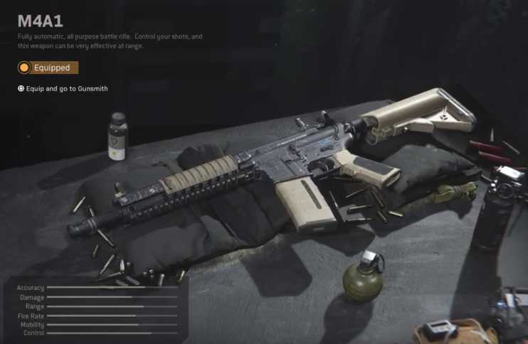 Call of Duty Modern Warfare M4A1