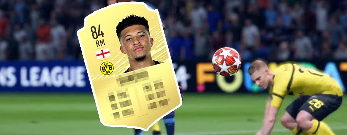 Jadon Sancho klagt über sein Rating in FIFA 20 – Das sagen EA und BVB dazu