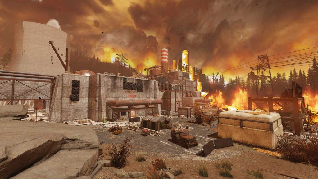 Fallout 76 Morgantown in Nuclear Winter