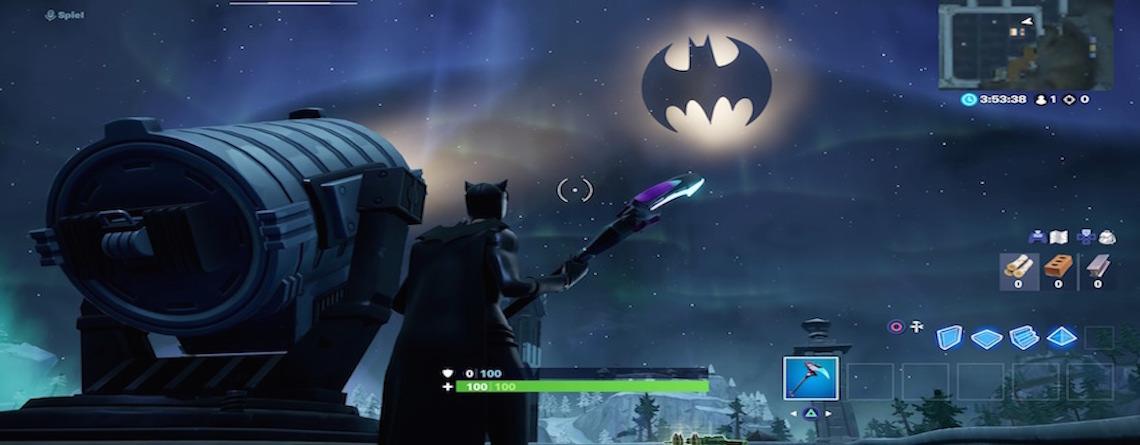 In Fortnite läuft das Batman-Event mit Skins und Challenges