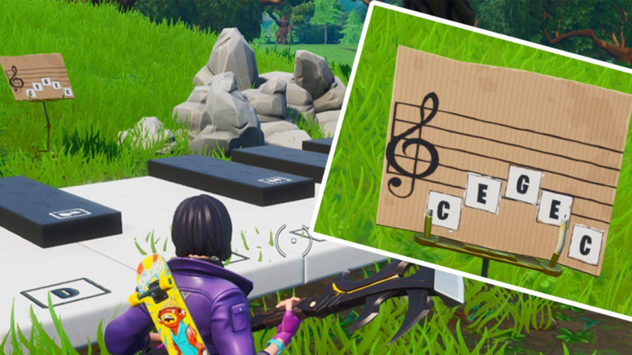 wo sind die klaviere in fortnite season 7
