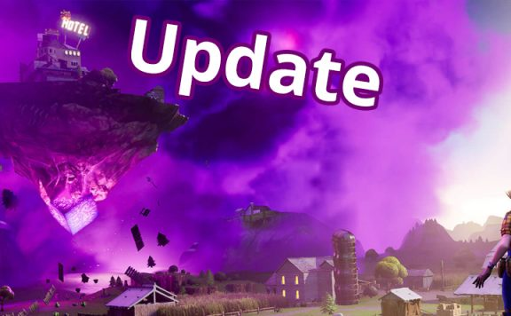 Fortnite Update Insel Titel