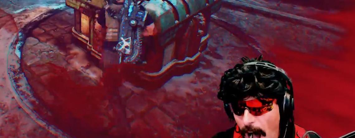Twitch-Streamer DrDisrespect mag Gears 5 plötzlich – Knallt alle ab