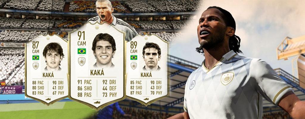 FIFA 20 – Kaká enttäuscht die Fans, aber diese 5 Icons sind top