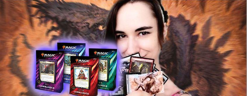 Schaut heute Magic Nights mit Leya – Gewinnt ein Commander-Deck