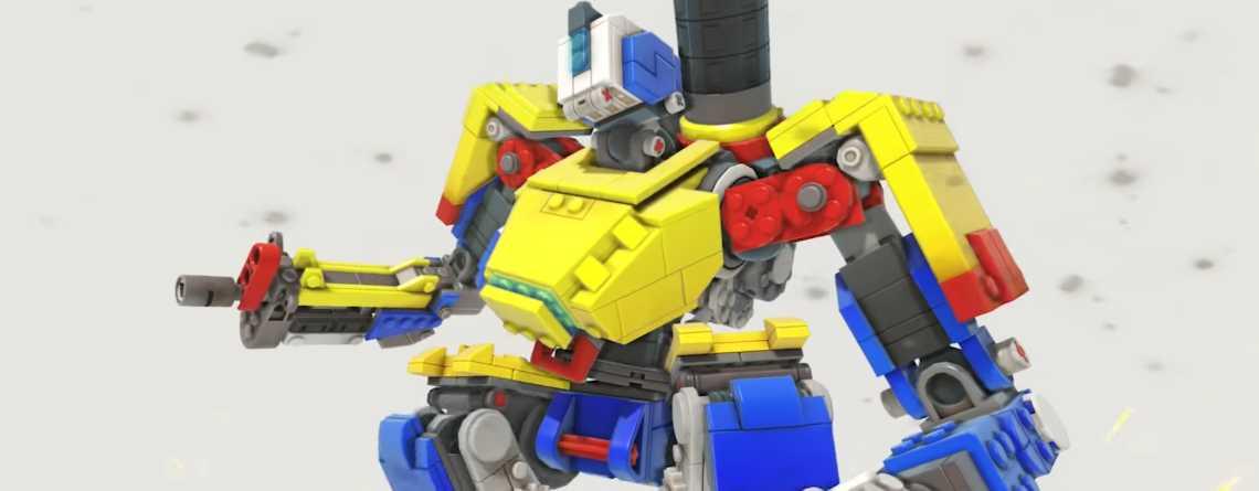 Neues Event in Overwatch bringt kostenlosen Lego-Skin für Bastion