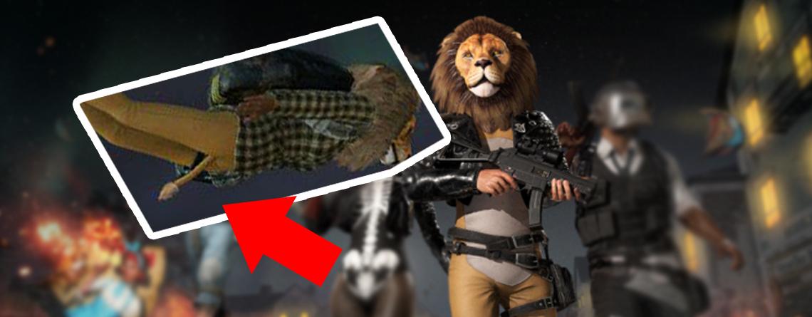 PUBG deaktiviert Löwen-Skin, weil es aussah, als hätte er einen Penis