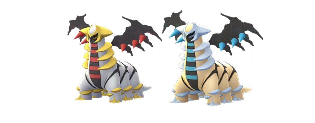 Shiny Giratina Pokémon GO