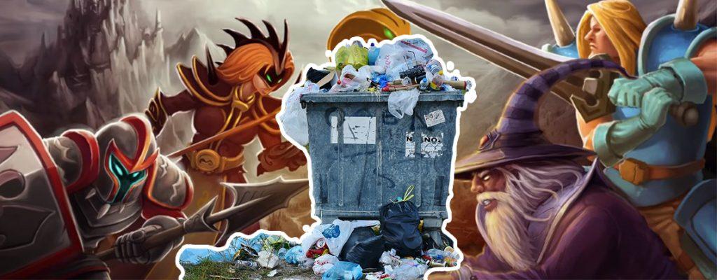 Tibia Müll Titel
