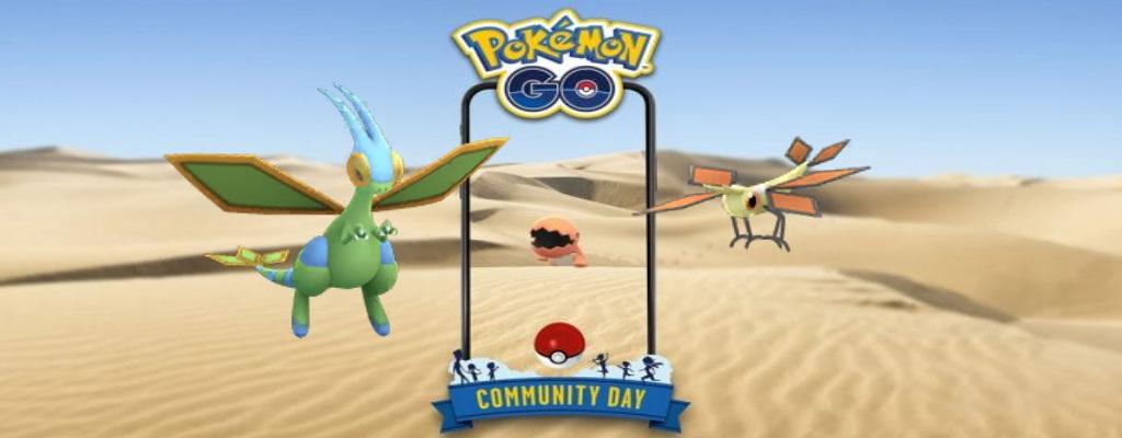 Pokémon GO: Libelldra lernt am Community Day Erdkräfte – Wie stark wird es?