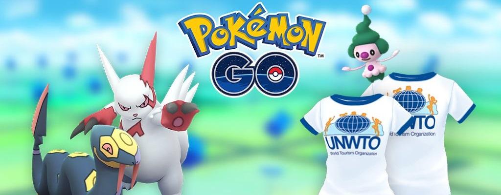 Pokémon GO: Alles zum Welttourismustag-Event – Feldforschungen, Boni, Spawns