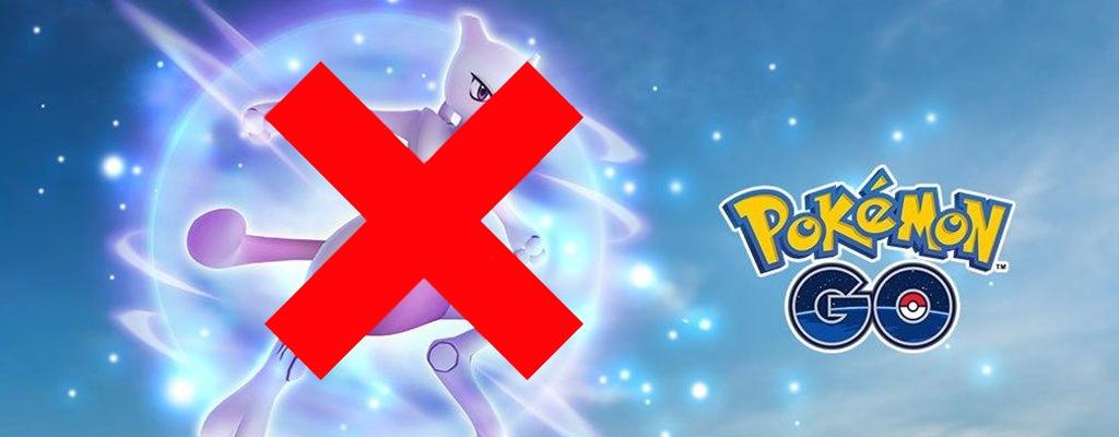Pokémon GO sagt Raid-Stunde mit Mewtu für heute ab – Was ist da los?