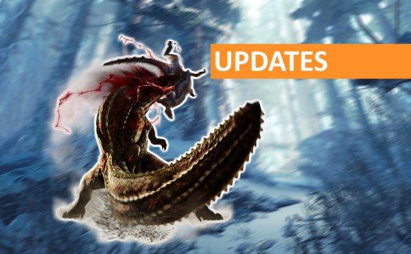Monster Hunter World Iceborne Updates