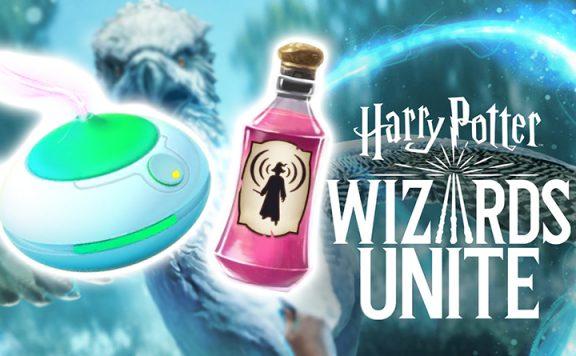 Wizards Unite Trank Rauch Titel