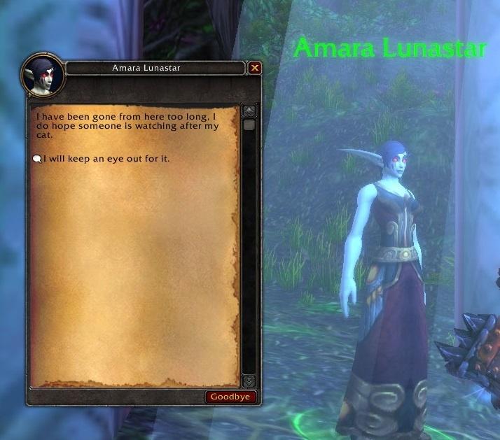 WoW Amara Secret Elf