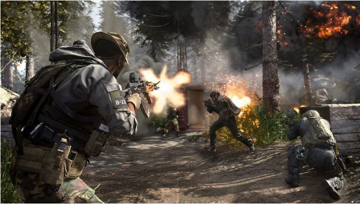cod modern warfare action