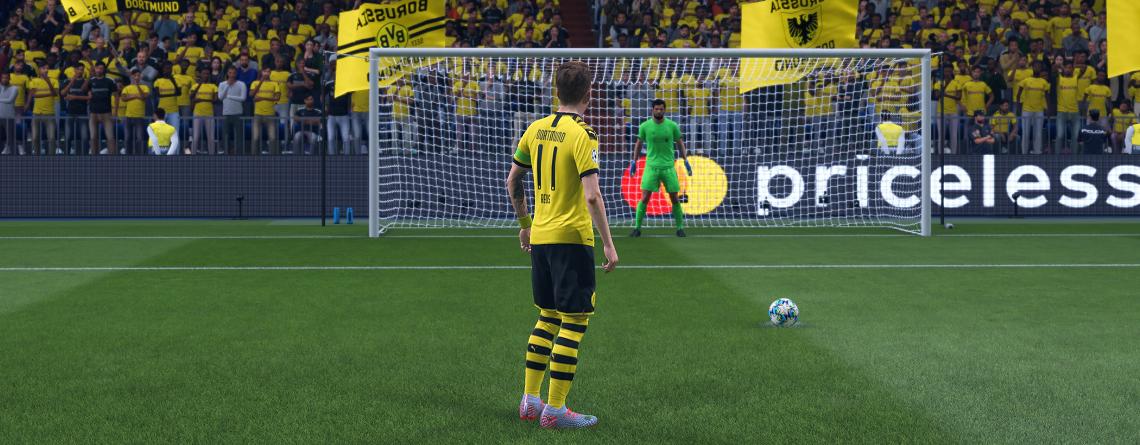 FIFA 20: Elfmeterschießen – So übt Ihr die neuen Elfmeter