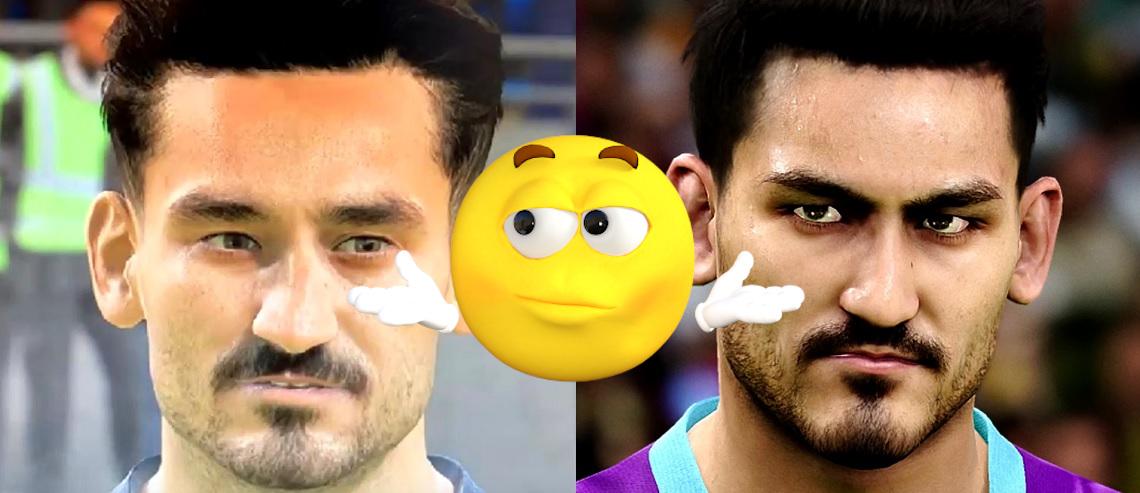FIFA 20 vs. PES 2020 im Grafik-Vergleich – So unterschiedlich sind die Spieler-Faces