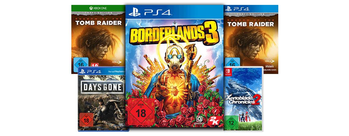 MediaMarkt Angebote: Spiele für PS4, Switch und Xbox stark reduziert