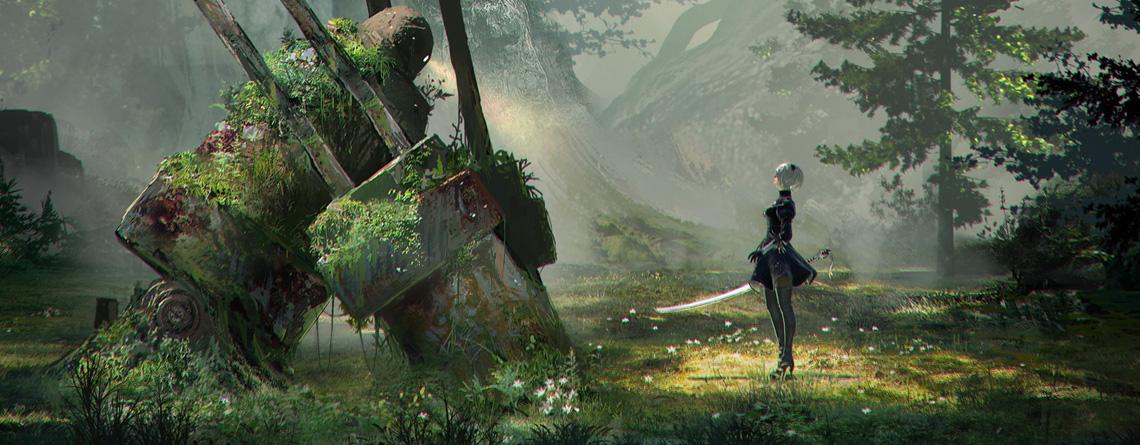 Final Fantasy XIV: Deshalb solltet ihr vor Ende Oktober Nier Automata spielen