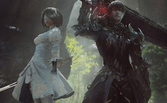 final fantasy xiv nier raid new header