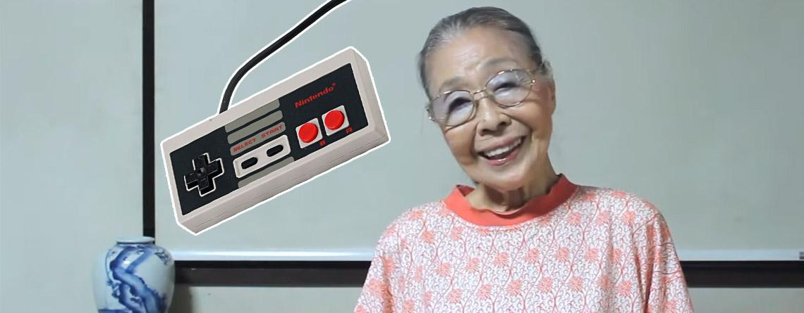 89-jährige Oma spielt seit fast 40 Jahren – Erklärt, warum Gaming ein wunderbares Hobby ist