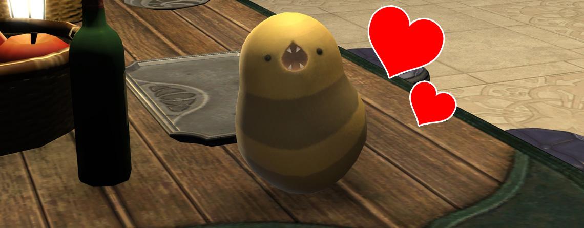 Final Fantasy XIV: Dieser kleine Wurm ist der heimliche Star von Shadowbringers