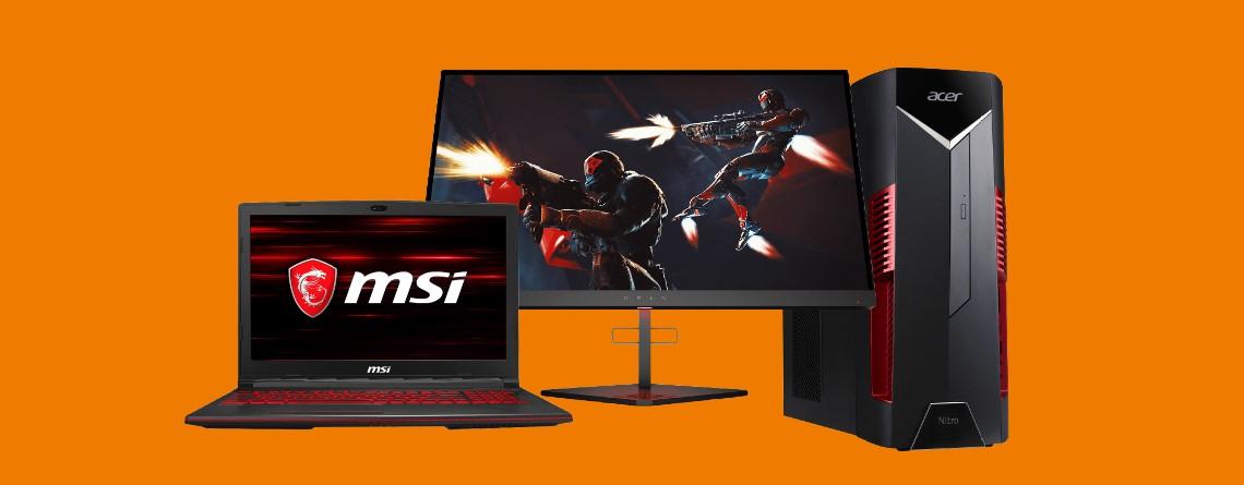 Flotter HP-Monitor mit 240 Hz, Gaming-PCs und mehr bei Saturn reduziert