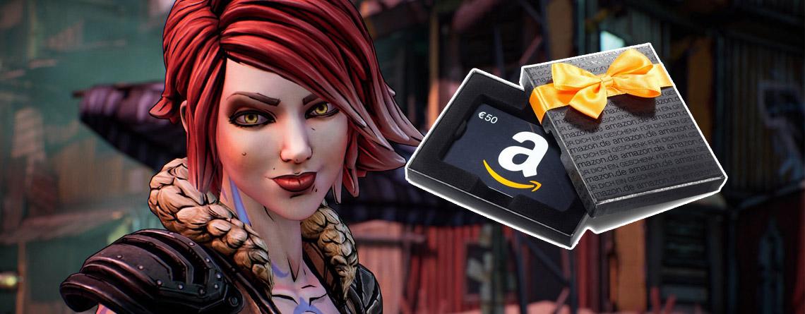 Borderlands 3: Gewinnt Amazon-Gutschein im Wert von 50€ mit eurem User-Review