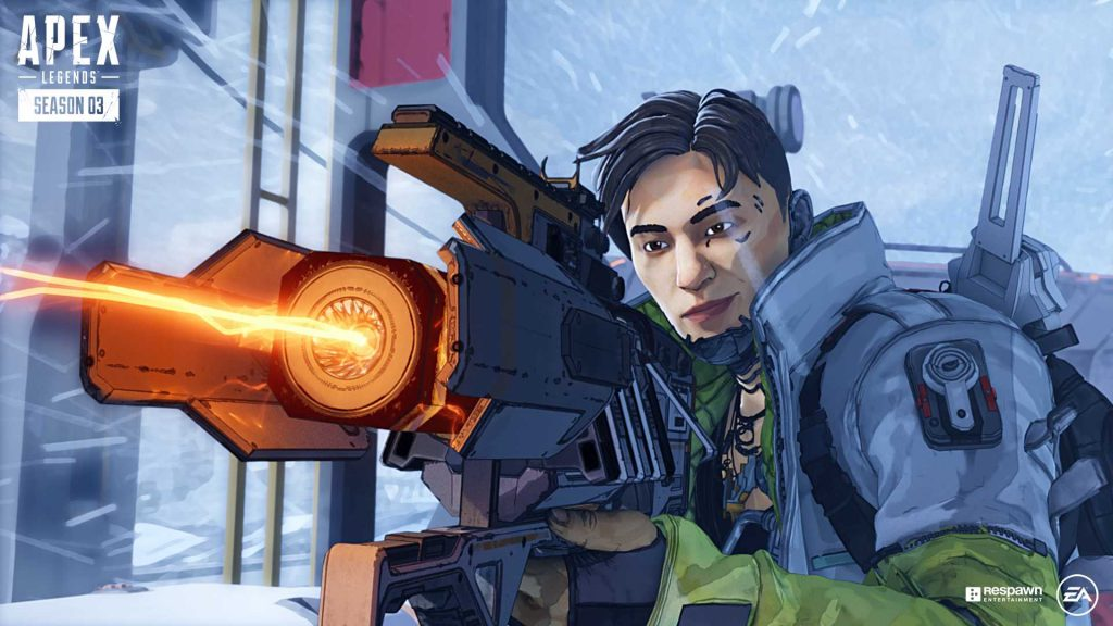 Apex Legends Crypto mit Charge Rifle