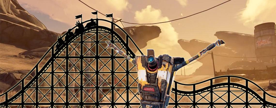 Borderlands 3: Riesige Achterbahn in der Wüste ist sinnlos, Spieler lieben sie trotzdem