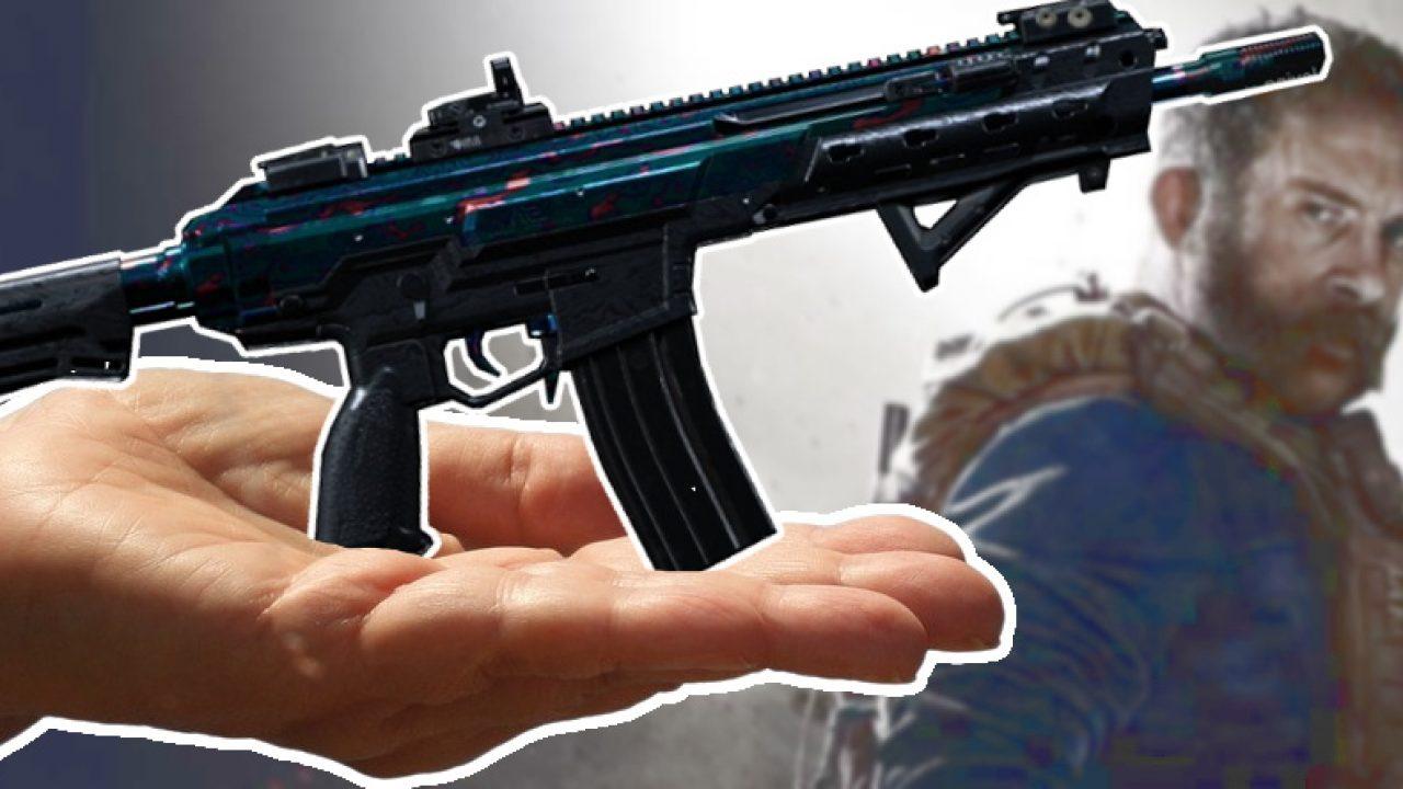 Cod Modern Warfare So Gibt S Das Seltenste Waffen Camo Damaskus