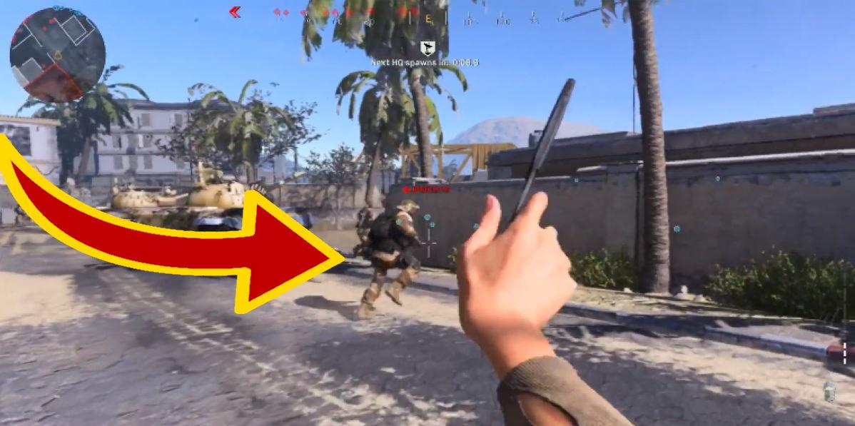CoD Modern Warfare: Spieler zeigt, wie leicht man am Start mit Wurfmessern Kills macht