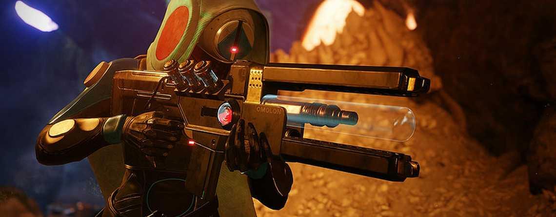 In Destiny 2 auf PC und Xbox One könnt Ihr endlich mit einer der stärksten Waffen rumballern